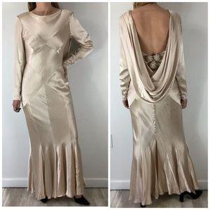 VINTAGE Casadei Lillie Rubin Hollywood Glam Gown